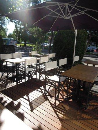 Restaurant Au Faisan Dore : La terrasse