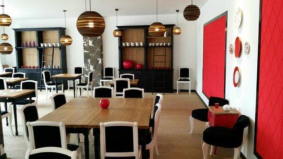 Restaurant Au Faisan Dore : Salle de restaurant