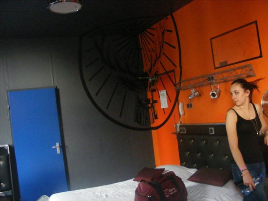 BackStage Hotel Amsterdam: Our Jager room