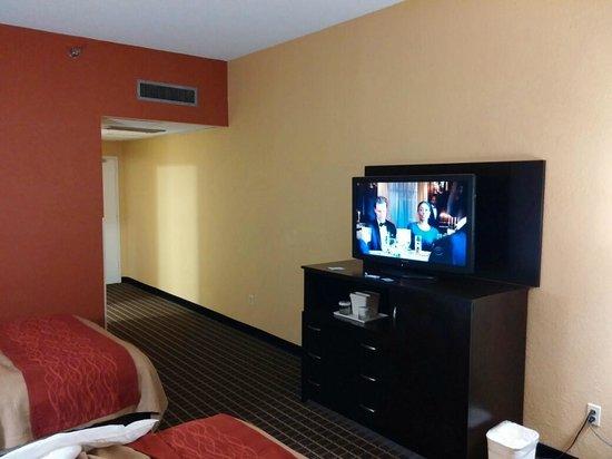 Clarion Inn  & Suites Miami Airport: TV pretty good.
