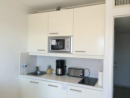 Nemea Residence Le Lido : Le coin cuisine