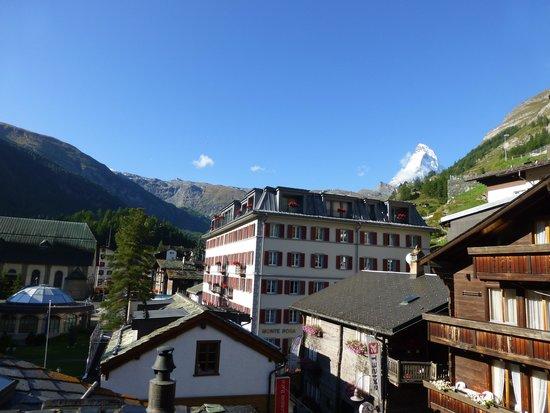Unique Hotel Post: vue depuis le balcon
