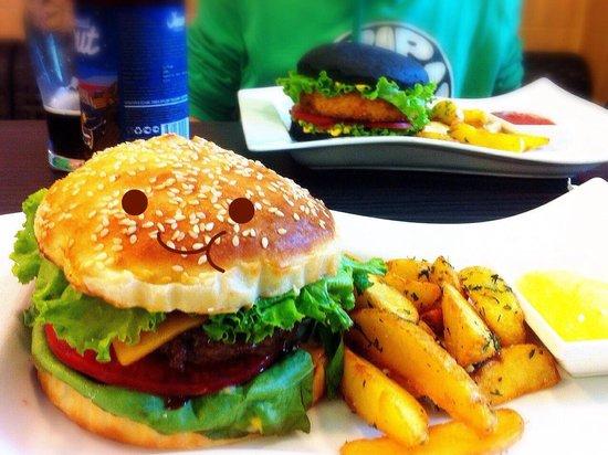 Wave ~Burgers&More~: Очаровательный классический бургер :)