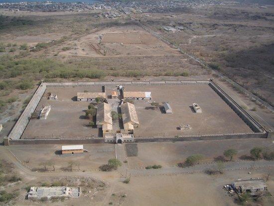 Konzentrationslager Colonia Penal de Tarrafal: Prisão do Tarrafal