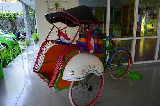 POP! Hotel Sangaji Yogyakarta: Trishaw