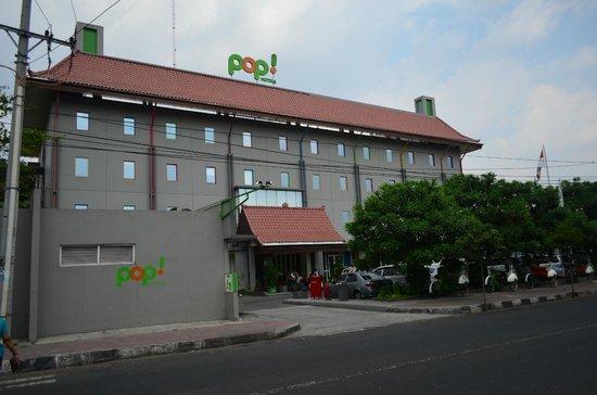 POP! Hotel Sangaji Yogyakarta: Hotel View from outside