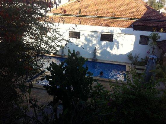 Martas Hotel : Vu du lit