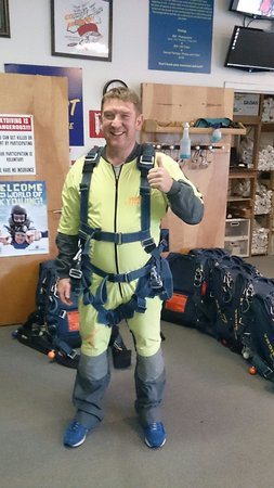 Vegas Extreme Skydiving : Here I go