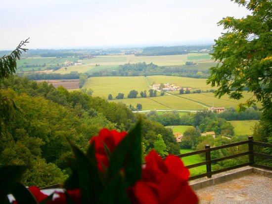 Osteria del Castello: Panorama dalla terrazza