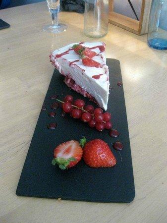 LA RUCHE AUX DEUX REINES : cheesecake