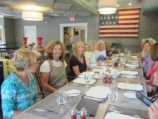 The Inn at Hastings Park : This was a lunch for former Pan Am flight attendants
