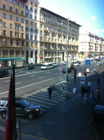 InterContinental Moscow Tverskaya Hotel : vista desde el comedor