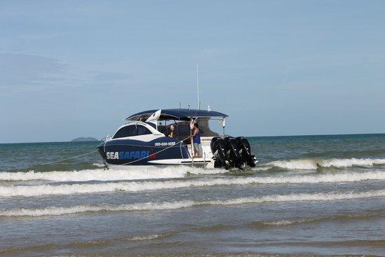 Welcome Jomtien Beach Hotel: Яхта Sea Safari