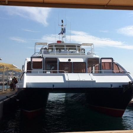 Île Sainte-Marguerite : Catamaran a Sta. Margarita.