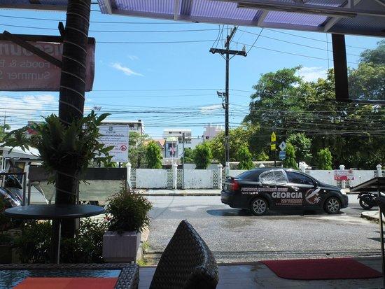 Patong Pearl Resortel : vue depuis la table du restau