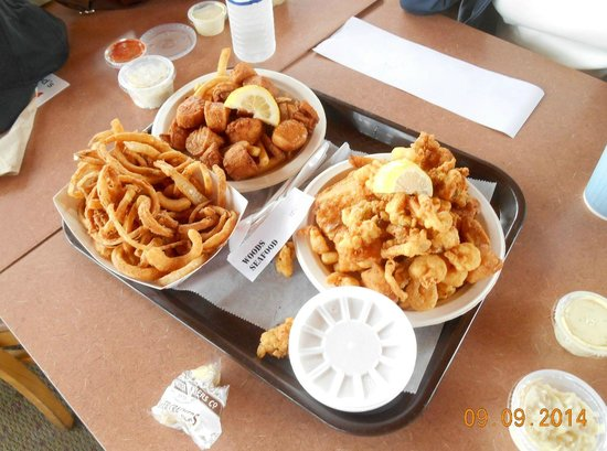 Wood's Seafood: I think We Ordered Too Much