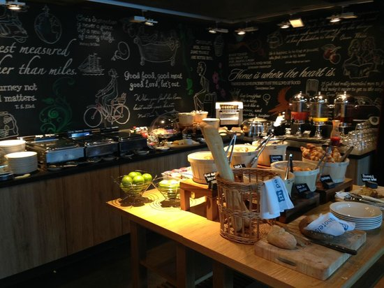 pentahotel Birmingham: Breakfast Buffet