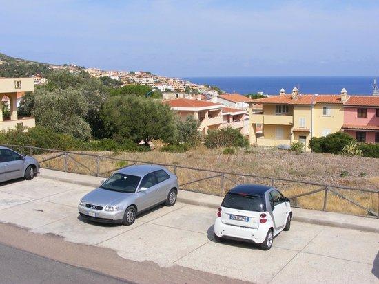 Residence Biriola : Вид на залив Орозеи с террасы.
