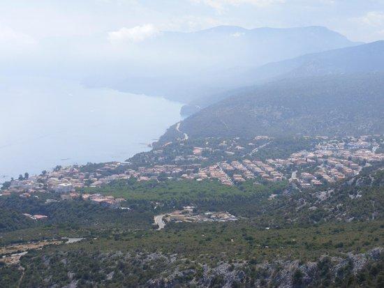 Residence Biriola : Вид на Кала Гононе