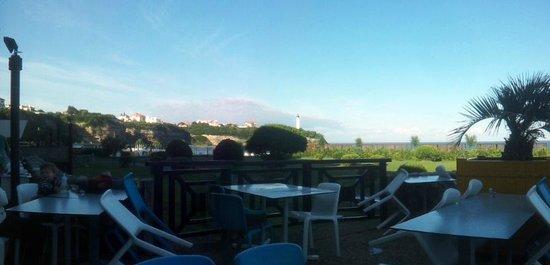 Vue de la terrasse photo de belambra clubs la chambre d 39 amour anglet tripadvisor - Belambra clubs la chambre d amour ...
