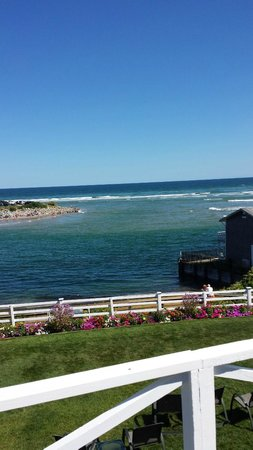 Terrace by the Sea: View from the Inn