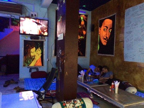 Pushkar's Cafe: Le bar