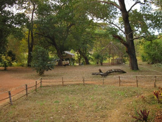 Bua River Lodge: Camping Area