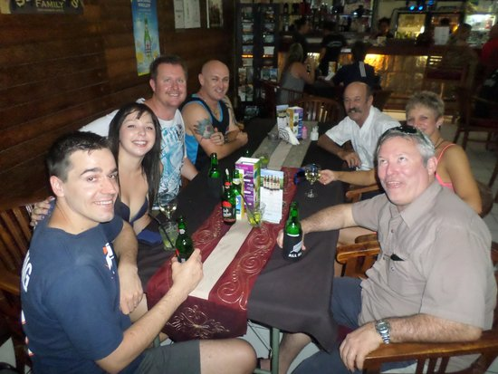 Sheppy`s Bar and Restaurant: Photo bombed by Jim himself. :)