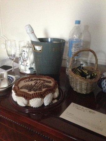 Rossi Boutique Hotel & SPA: торт