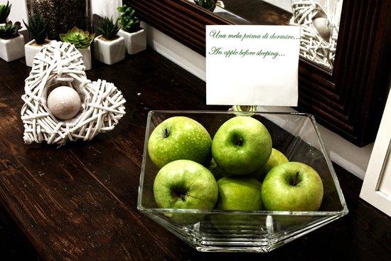 Camere il Giglio: mele x la notte...