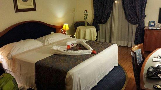 Massimo Plaza Hotel : La camera