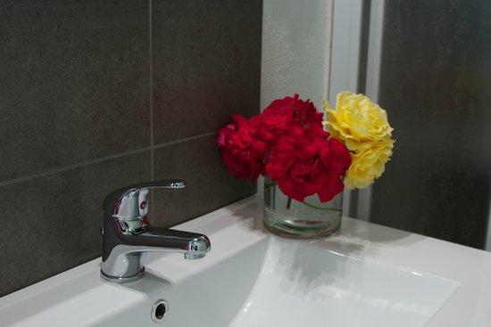 Camere il Giglio: dettaglio bagno