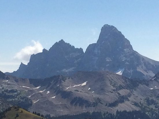 Grand Targhee Ski Resort: Grand Teton peaks
