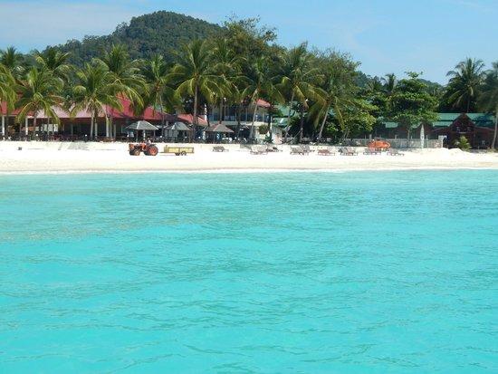 Redang Holiday Beach Villa : ещё пляж