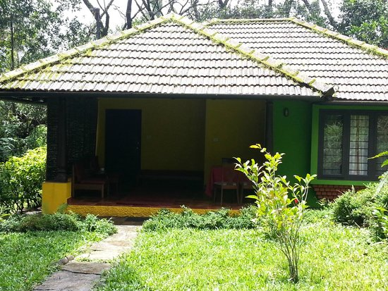 Gowri Nivas: Front view of the cottage with 2 rooms