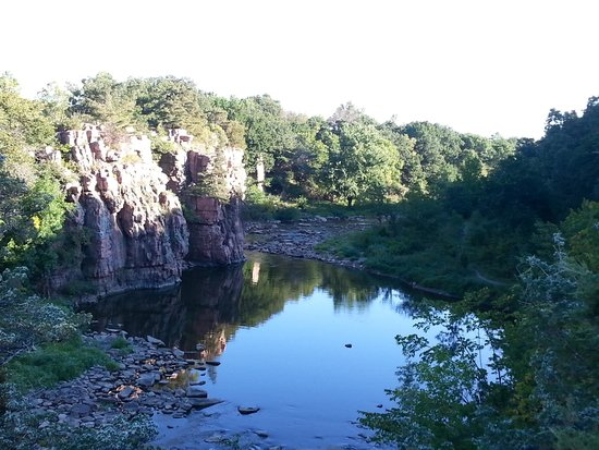 Palisades State Park: A view from the bridge