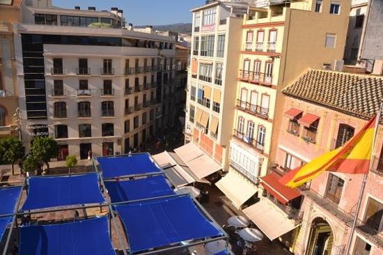 Room Mate Larios : view onto square
