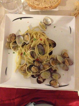 Ristorante al 187: spaghetti con le vongole