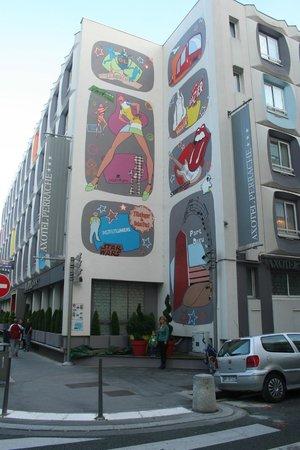 Hotel Axotel Lyon Perrache : Vicino al centro buon rapporto qualità prezzo