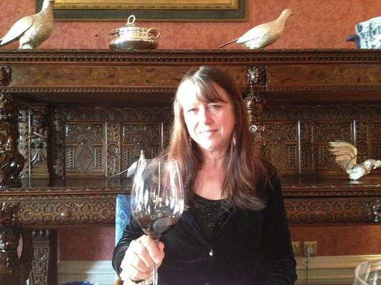 Inverlochy Castle : King Leopold's buffet behind me