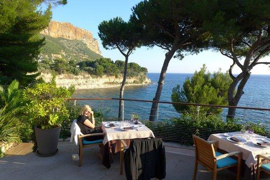 La Villa Madie : Terrasse