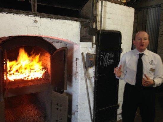 Highland Park Distillery: Hot time at the Distillery