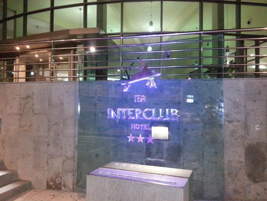 IFA Interclub Atlantic Hotel: Insegna all'ingresso