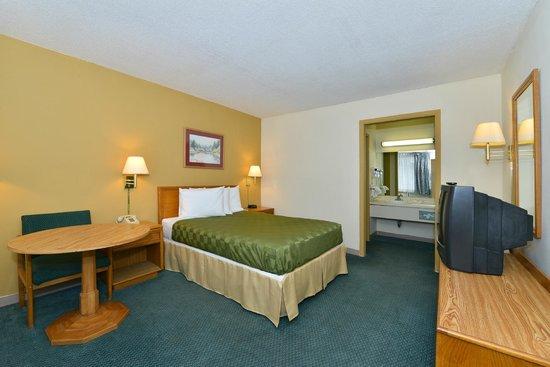 Americas Best Value Inn: Single Bed