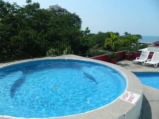 Suites Plaza Del Rio : Area de Jacuzzie