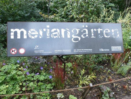 Botanischer Garten Brüglingen / Grün 80: Park entrance