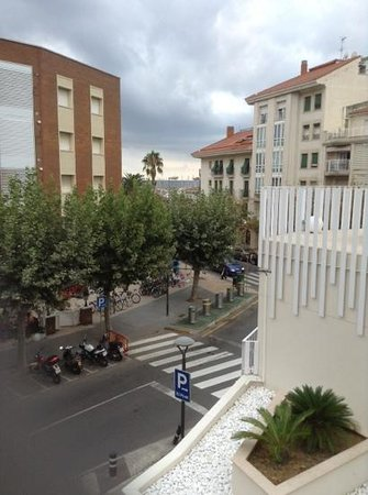 Monica Hotel: view from balcony
