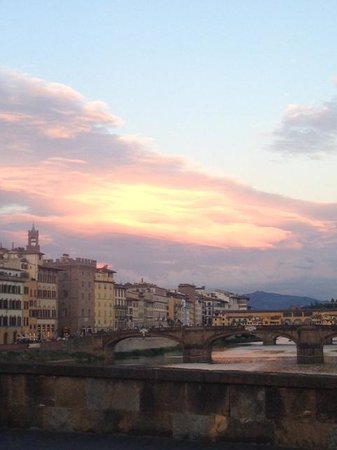 Artviva: The Original & Best Tours Italy : Florence at sunset