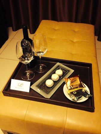 Palermo Tower by P Hotels: Un detalle para comenzar nuestra estancia de la mejor manera!