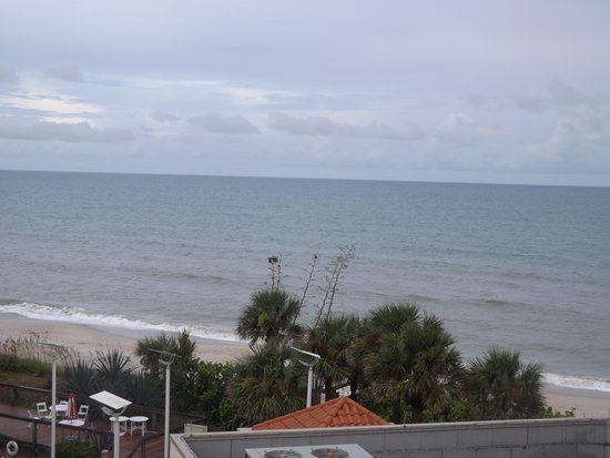 Hilton Melbourne Beach Oceanfront: the view from our balcony